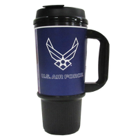MADE IN USA Travel Mugs - Air Force