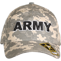 Made in the USA: US Army Digital Camo Cap
