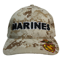 Made in the USA: US Marines Digital Camo Cap