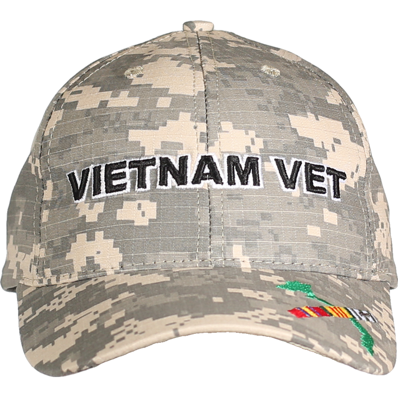 fcff20182441e8 MADE IN USA Caps Digital Camo - Vietnam Vet