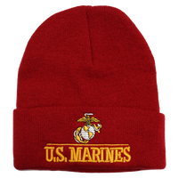 US Marines Embroidered Logo Beanie