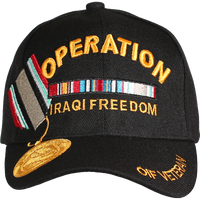 Caps - Medal - Operation Iraqi Freedom