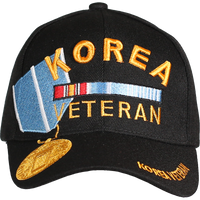 Caps - Medal - Korea Veteran