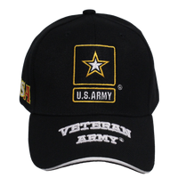 US Army Embroidered Veteran Cap