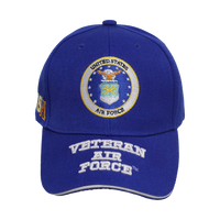 US Air Force Embroidered Veteran Cap