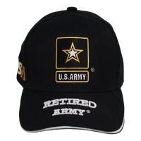 Retired US Army Cap