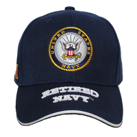 Caps - Retired - Navy