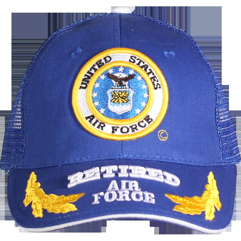 449040a8e61 Caps - Mesh - Retired - Air Force