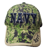 Caps - Digital Camo - Navy