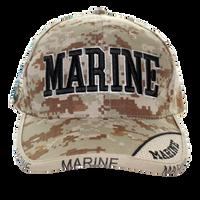 US Marines Digital Camo Cap