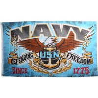 US Navy Patriotic Flag