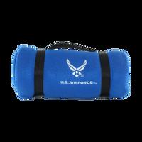 US Air Force Polar Fleece Blue Blanket