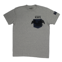 Made in the USA: US Navy Colored Pocket T-shirt