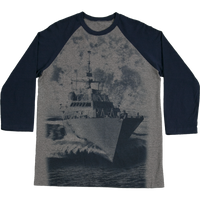MADE IN USA  Baseball  T-Shirt - Navy