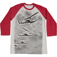 MADE IN USA  Baseball  T-Shirt - Marines