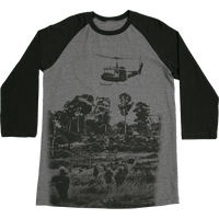 MADE IN USA  Baseball  T-Shirt - Vietnam Vet