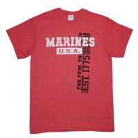 T-Shirts - Vintage Wash - Marines