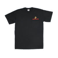 T-Shirts - Pocket - Marines Black