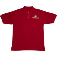 Golf Shirts - Pocket - Marines Red