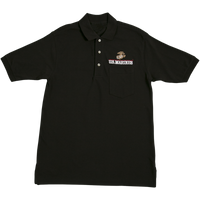 Golf Shirts - Pocket - Marines 5 --00058-0