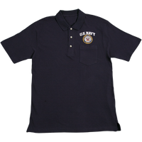 Golf Shirts - Pocket - Navy Navy