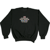 Sweatshirts - Full Front - Iraqi Freedom
