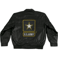 Jackets - Leather - Army