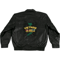 Jackets - Leather - Vietnam Veteran