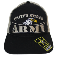 MADE IN USA Caps Foam Mesh - Army