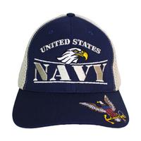 MADE IN USA Caps Foam Mesh - Navy