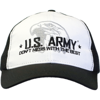 MADE IN USA Don't Mess with the Best Caps - Army