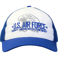 MADE IN USA Don't mess with the Best Caps - Air Force