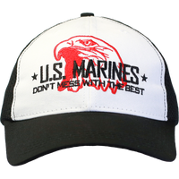 MADE IN USA Don't mess with the Best Caps - Marines