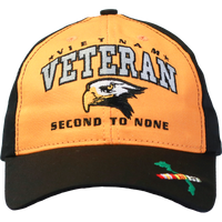 MADE IN USA Second to None Cap - Vietnam Vet