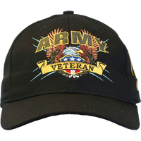MADE IN USA Caps Veteran - Army
