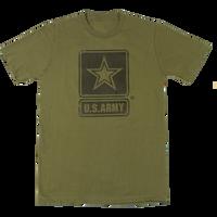 USA Made Mono Gloss T-Shirts - Army