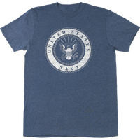 USA Made Inside Out T-Shirt -Navy