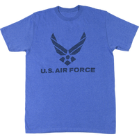 USA Made Inside Out T-Shirt - Air Force