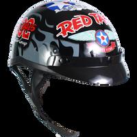 Motorcycle Half Helmet - Tuskegee Airmen