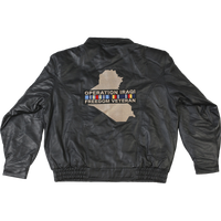 Operation Iraqi Freedom Veteran Leather Jacket