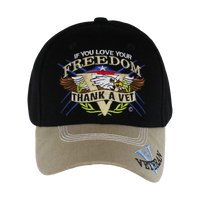 Embroidered Thank a Vet Cap