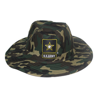 Military Hunter Hats - Army - Camo - Woodlands