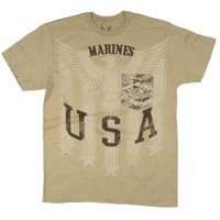 MADE IN THE USA - Camo Pocket T-shirt - Marines