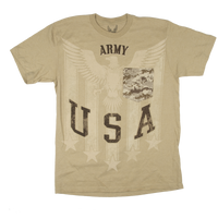 MADE IN THE USA - Camo Pocket T-shirt - Army