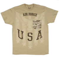 MADE IN THE USA - Camo Pocket T-shirt - Air Force
