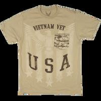 MADE IN THE USA - Camo Pocket T-shirt - Vietnam Veteran