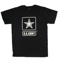 MADE IN THE USA -1 Color Front Logo T-shirt - Army