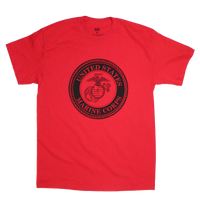 1 Color Front Logo T-shirt - Marines