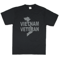 1 Color Front Logo T-shirt - Vietnam Veteran