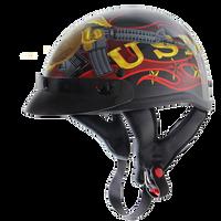 Motorcycle Helmet - Marines